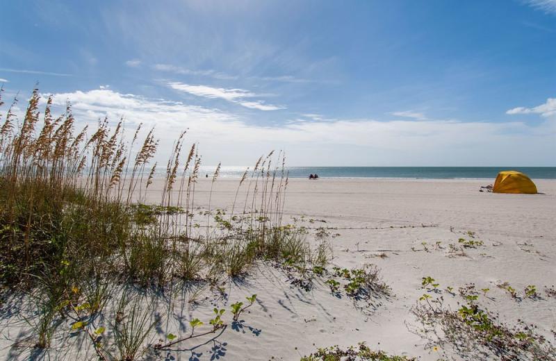The beach at Sunsational Beach Rentals. LLC.
