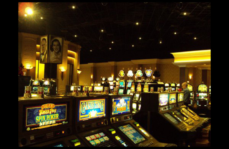 Slot machines at Hollywood Casino Tunica.