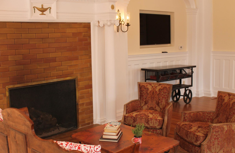 Fireplace Lounge at The Stanley Hotel