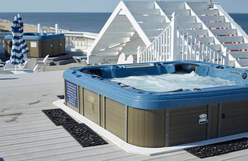 Hot tub at Boardwalk Plaza Hotel.