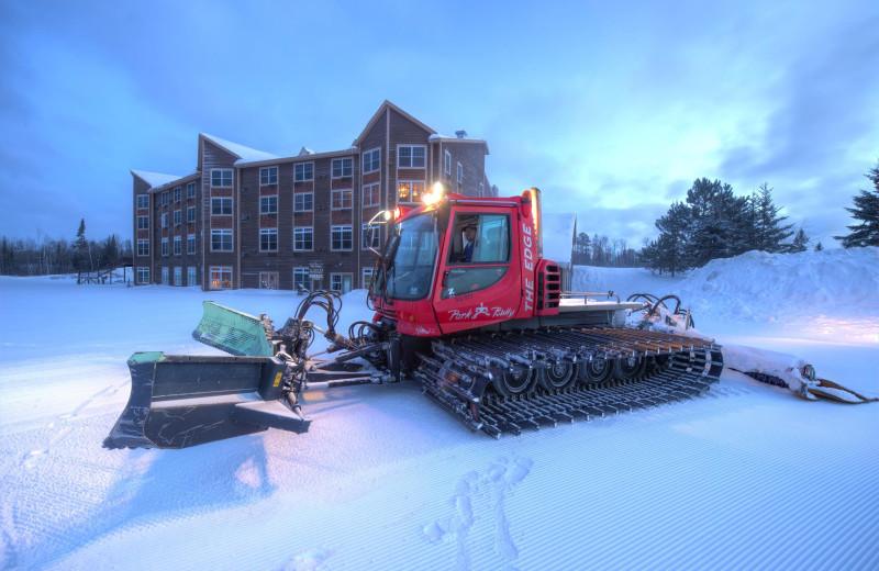 Winter at The Lodge at Giants Ridge.