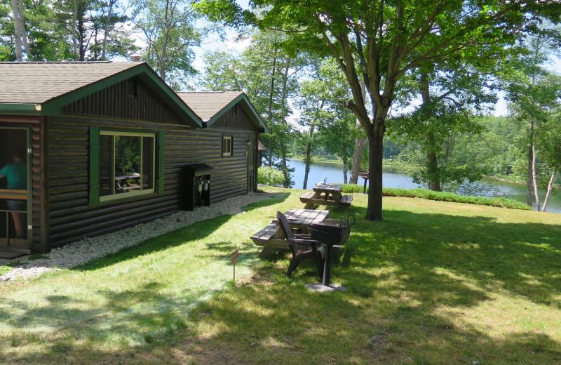 Cabins at Sleeping Bear Resort.