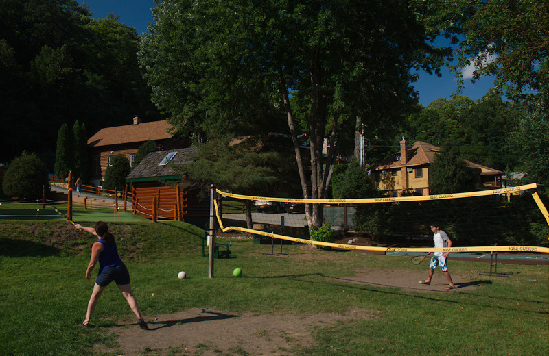 Volleyball at Trout House Village Resort.