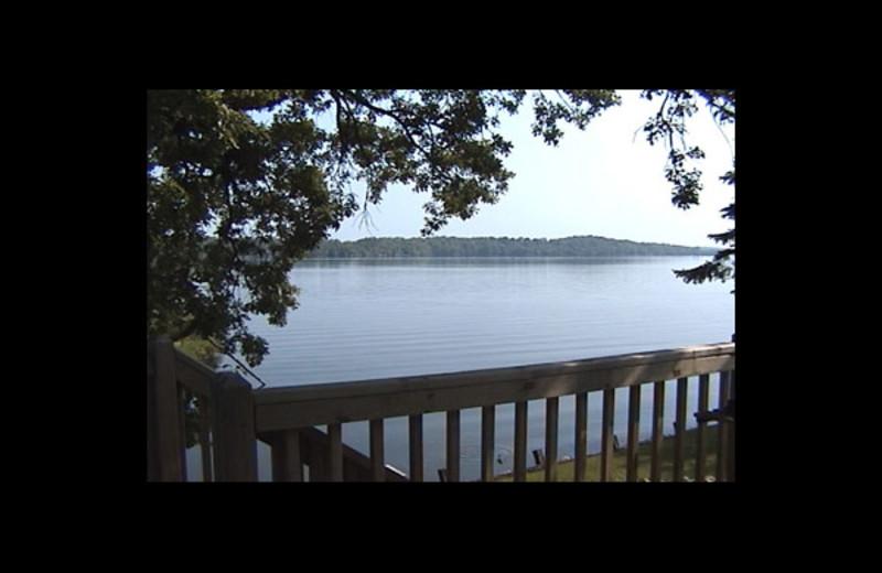 Lake at Sakatah Bay Resort Motel.