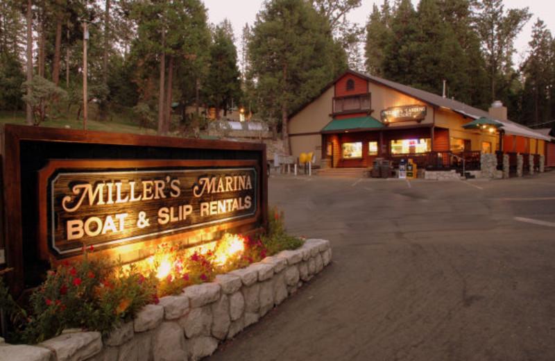 Exterior view of Miller's Landing Resort.
