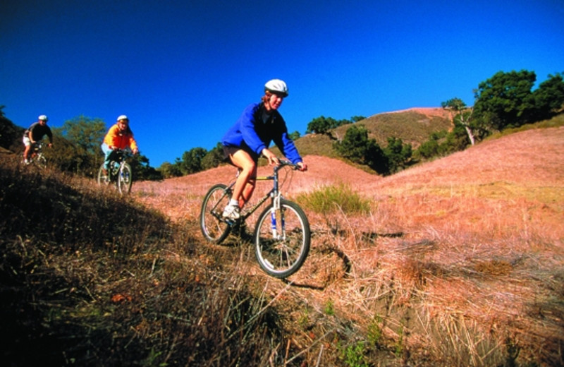 Bike riding at Alisal Guest Ranch and Resort.