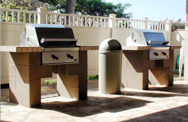 BBQ grill at Kihei Akahi.