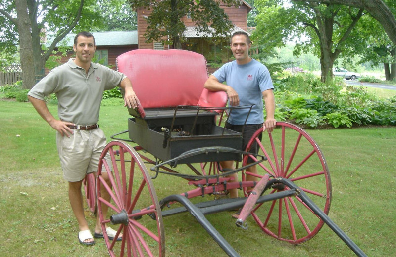 Carriage at Chanticleer Guest House.