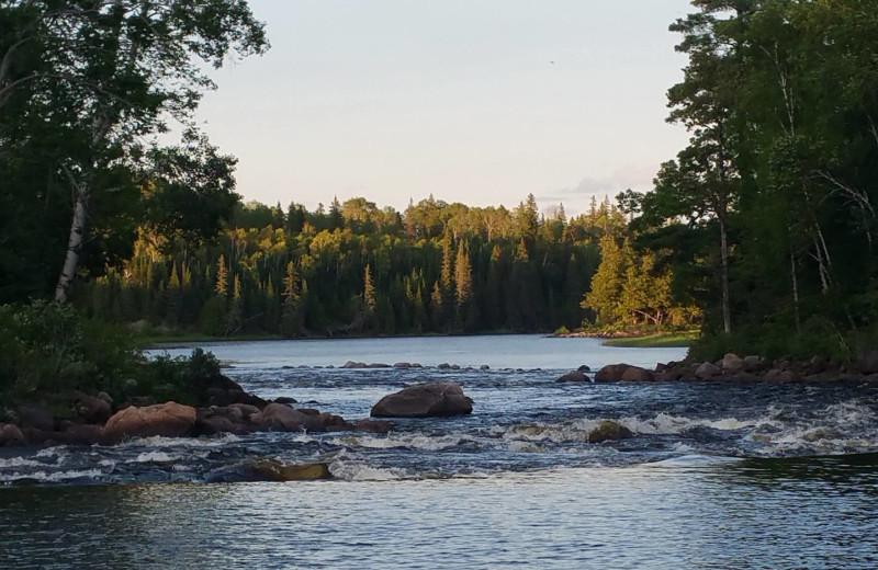 Scenic view at Elk Lake Wilderness Resort.