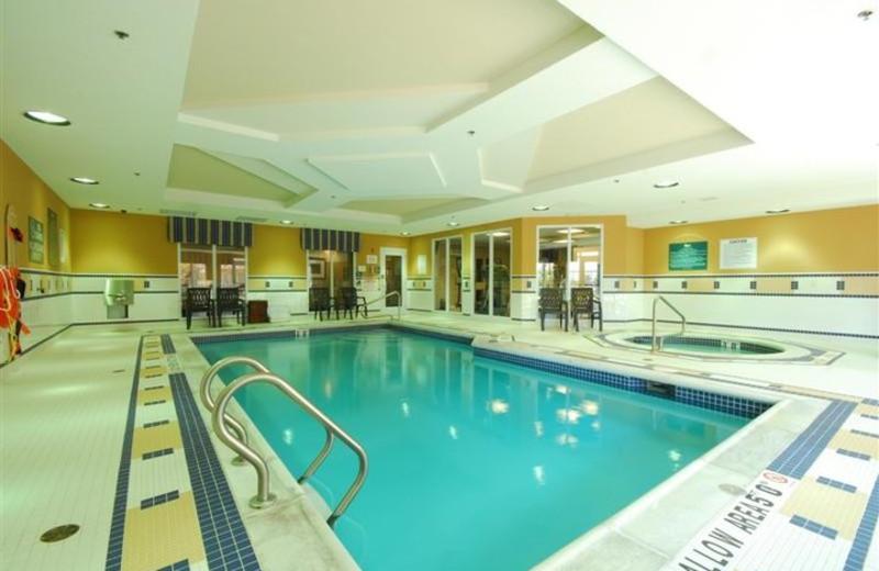 Indoor Pool at Homewood Suites by Hilton London Ontario