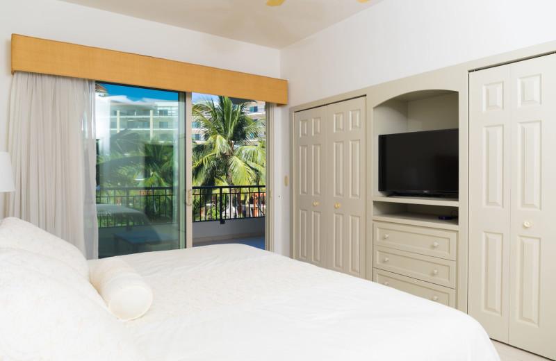 Rental bedroom at La Isla - Vallarta.
