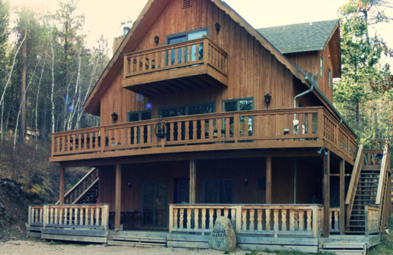 Cabin exterior at Edelweiss Mountain Lodging.