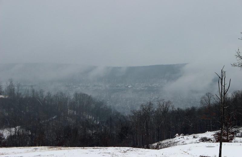 View from Saddleback Lodge.