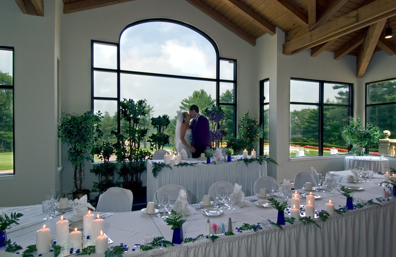 Weddings at Toftrees Golf Resort and Conference Center.