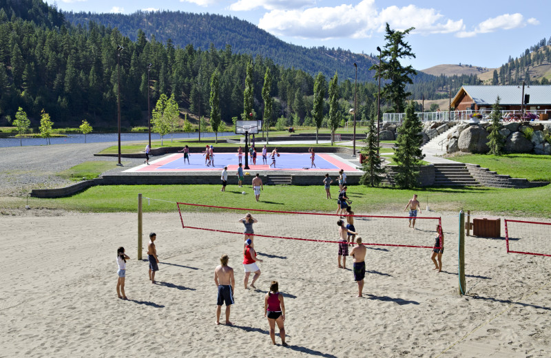 Beach Volleyball at RockRidge Canyon Camp & Conference Center