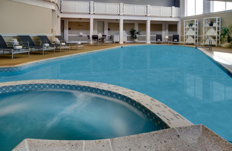 Pool at The Hotel Viking.