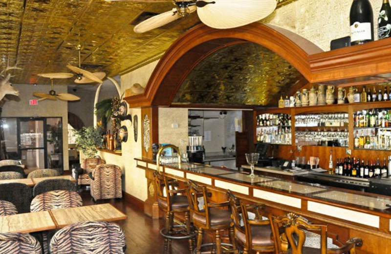 The bar at Clarion Hotel at The Palace.