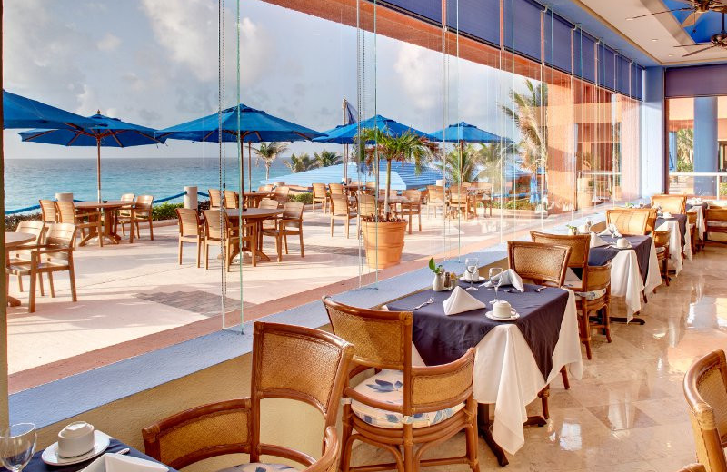 Dine with a View at Barcelo Tucancun Beach