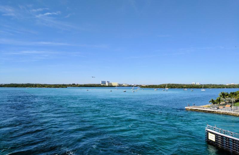 Ocean view at Bal Harbour Quarzo Luxury Boutique Hotel.