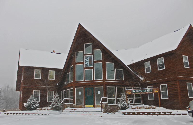 Exterior view of Big Powderhorn Lodging.