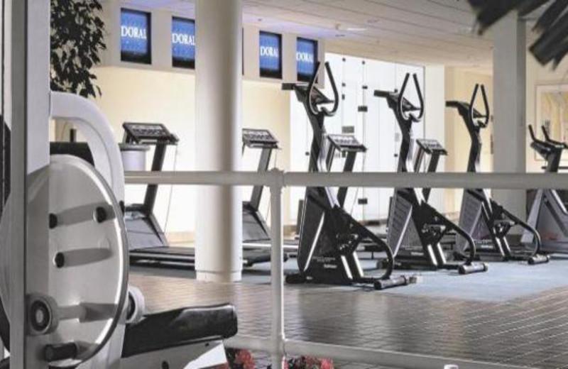 Fitness center at Doral Arrowwood.