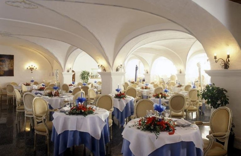 Dining at Hotel Ancora.