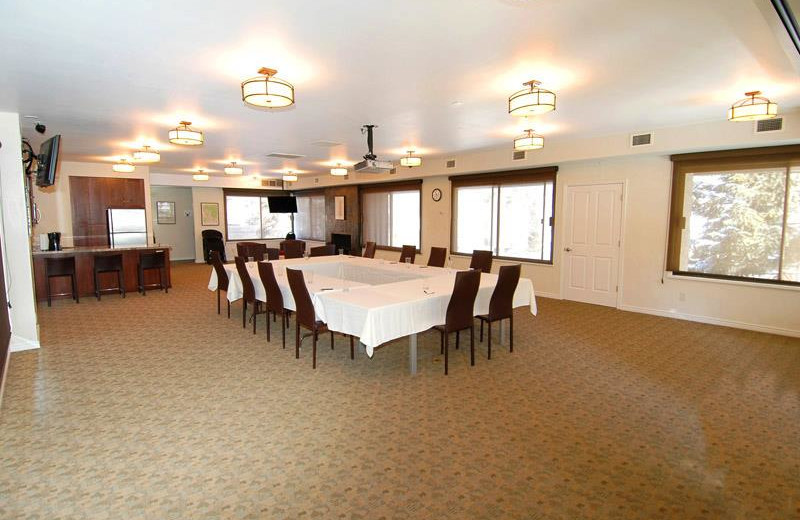 Meeting room of rental property at Frias Properties of Aspen.