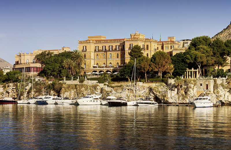 Exterior view of Villa Igiea Grand Hotel.
