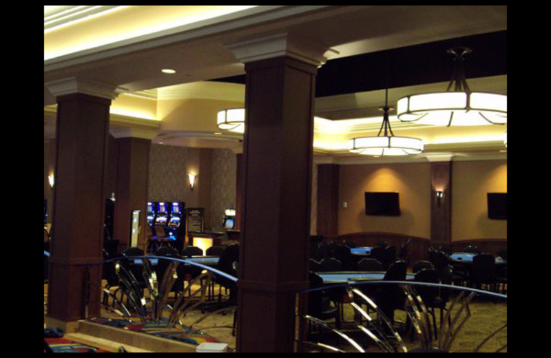 Poker tables at Hollywood Casino Tunica.