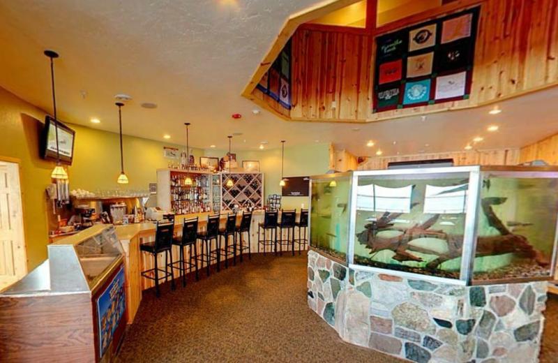 Bar at Hiawatha Beach Resort.