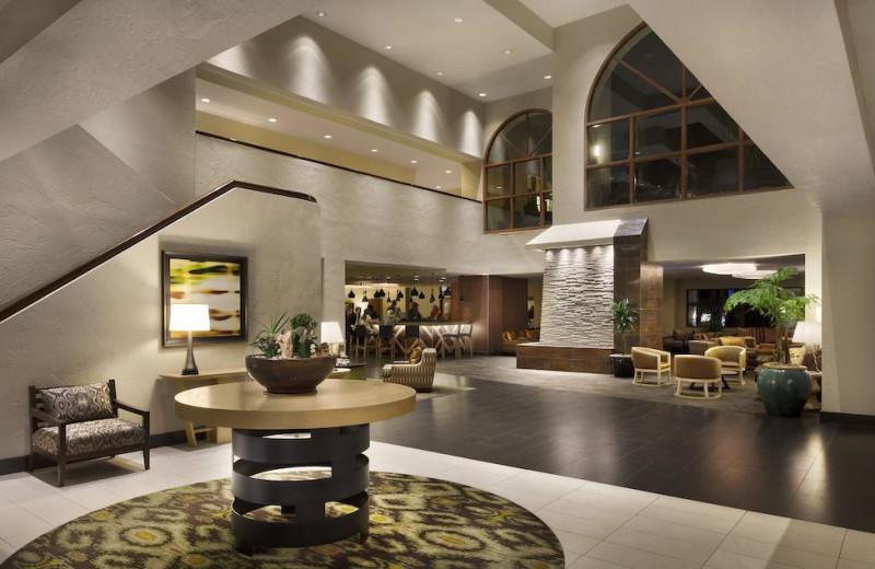 Lobby at Embassy Suites Phoenix - Tempe.