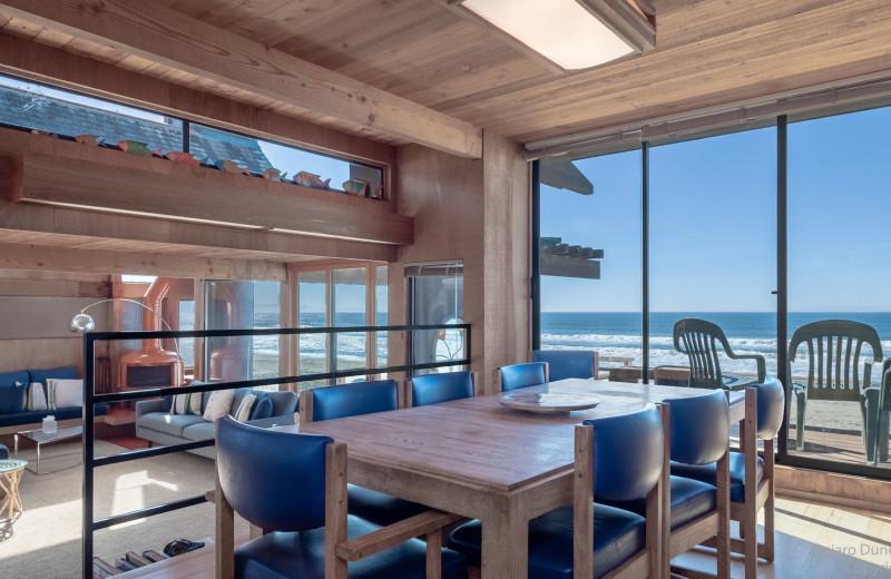 Rental dining area at Pajaro Dunes Resort.