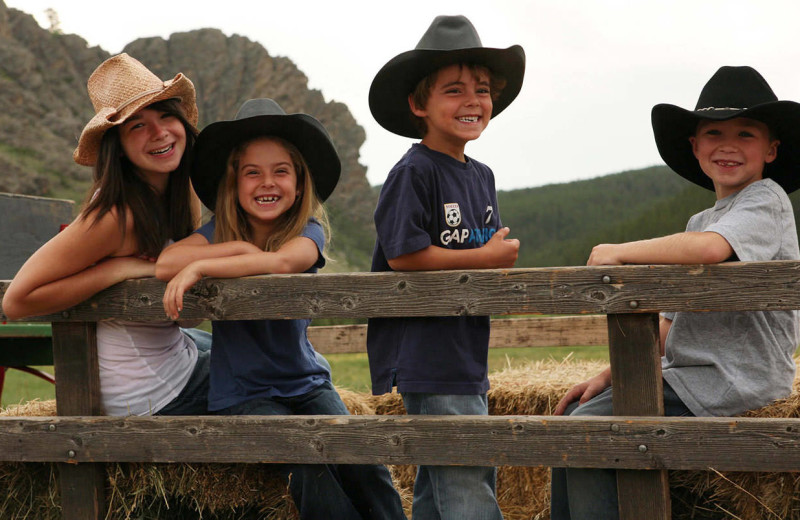 Family at Paradise Guest Ranch.