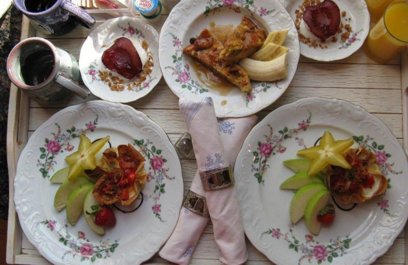 Breakfast at Ann Bean Mansion.