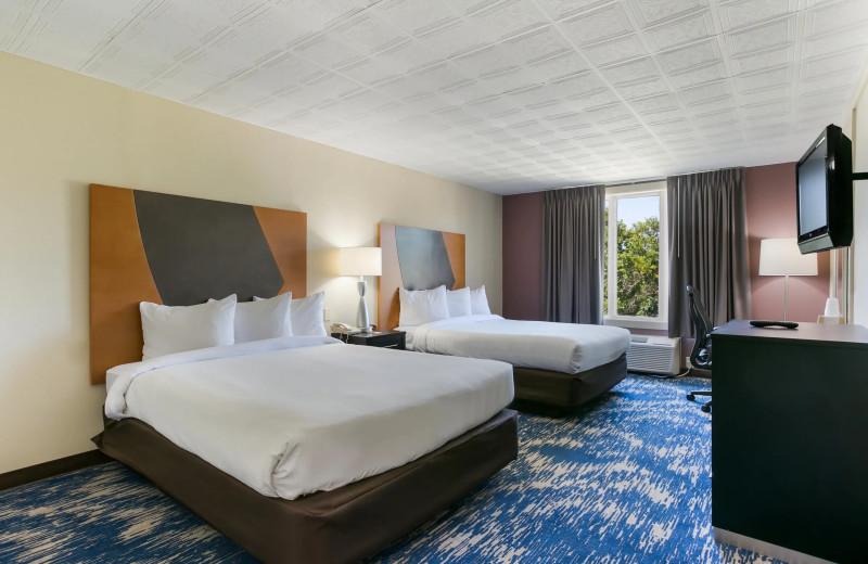 Guest room at Eisenhower Hotel