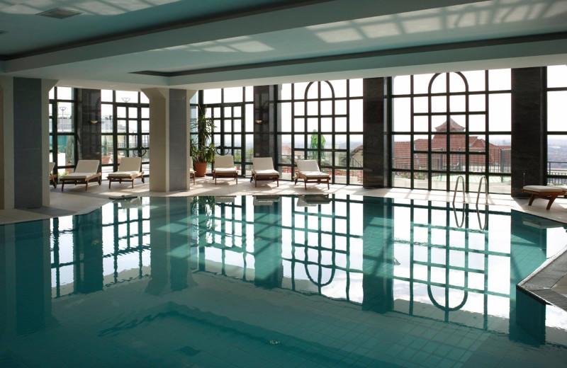 Indoor pool at Broad Oak Country Hotel.