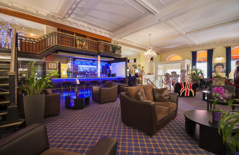 Hotel lobby at Hotel XIX Siecle.