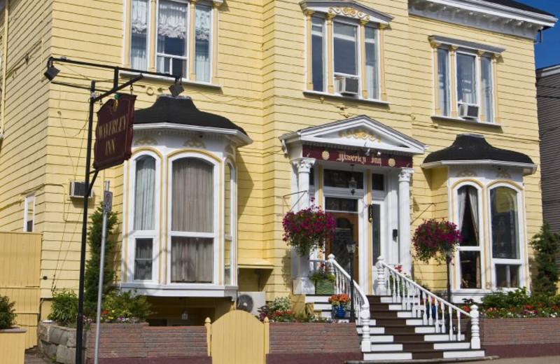 Exterior view of Halifax's Waverley Inn.