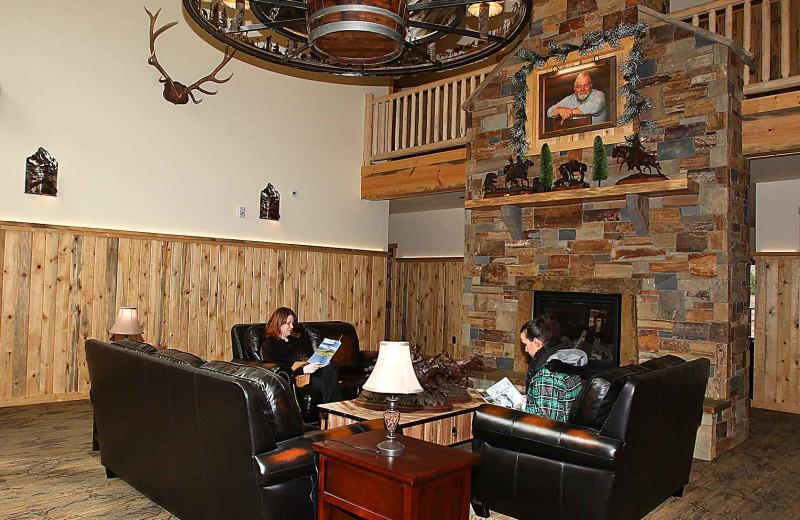 Lobby at Quinn's Hot Springs Resort