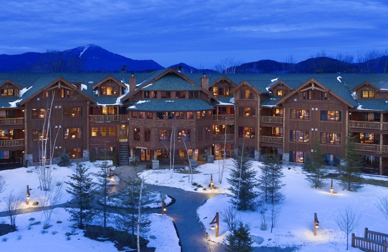 Winter at The Whiteface Lodge.