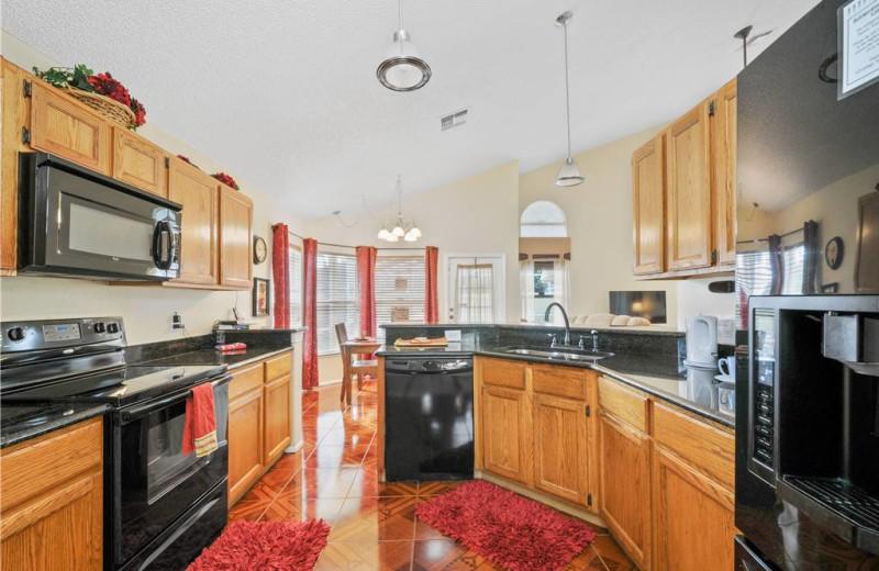 Kitchen at Advantage Vacation Homes