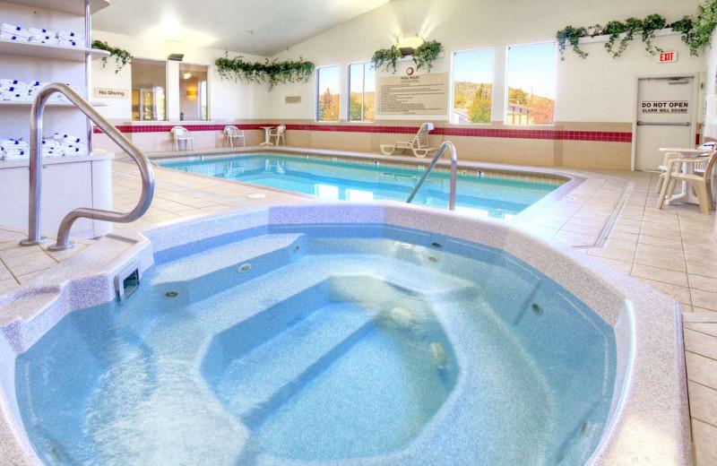 Pool at Hampton Inn Butte.