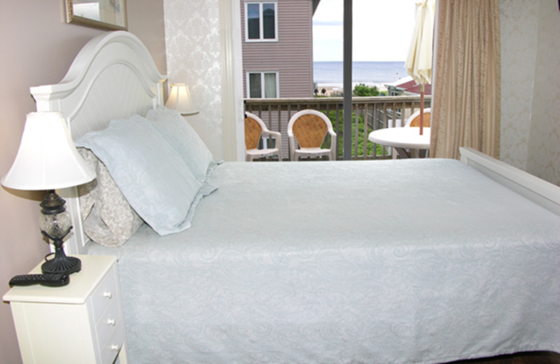 Guest room at Auberge by the Sea B & B.