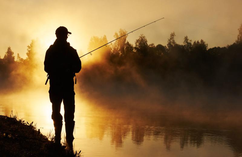 Fishing at Carolina Mornings.