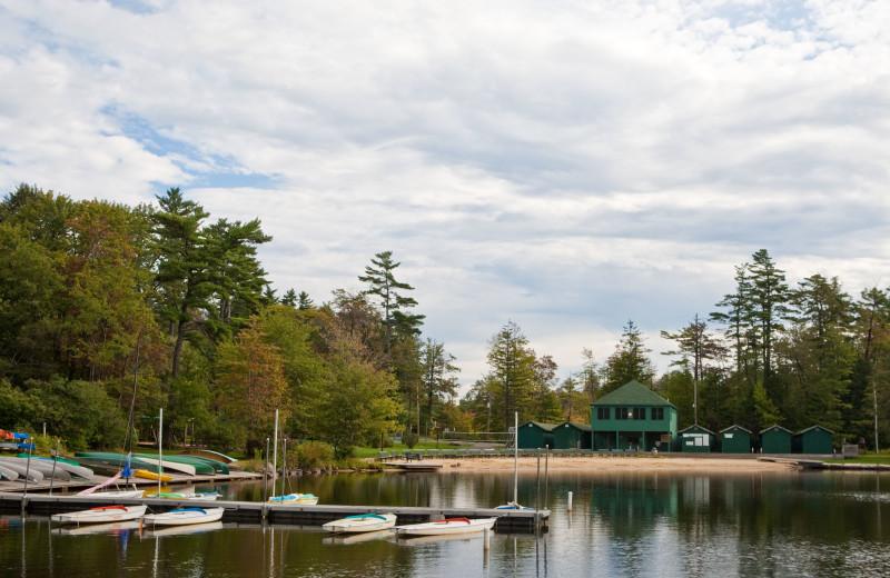 Lake near Eagles Mere Inn.