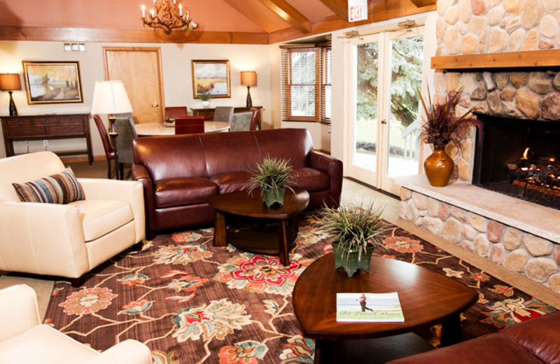 Each of our six Inns feature two public living areas full with large, flatscreen television and stone fireplaces.