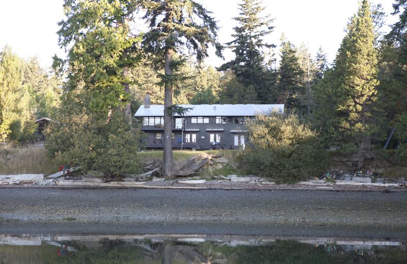 Exterior view of Pebble Cove Farm.