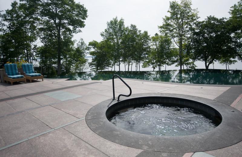 Pool at The Inn at Ocean's Edge.