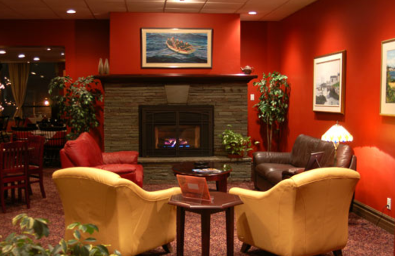 Lobby at Clarenville Inn.