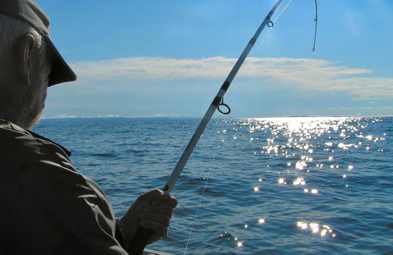 Fishing at Gulf Winds Resort Condominiums.